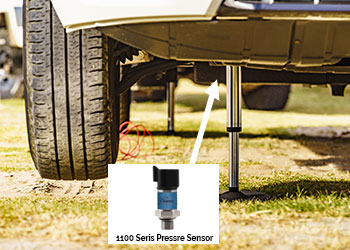 1100 Pressure Sensor in Automatic Hydraulic Level System