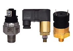 SPDT Circuit 7-30 psi Range Spade Terminal Gems PS41-20-4MGS-C-SP Series PS41 Economical Miniature Pressure Switch 1//4 BSPM SS Fitting