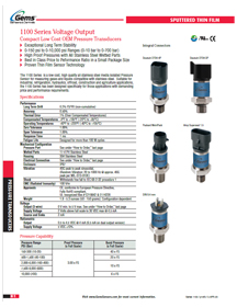 1100 Series Catalog Page