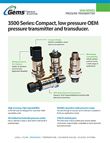 3500 Series Product Guide
