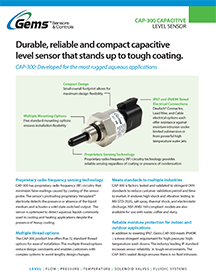 CAP-300 Product Guide