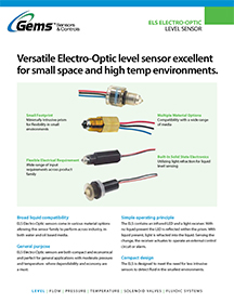 Electro-Optic Level Switch Product Guide