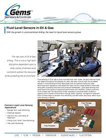 Fluid Level Sensors in Oil & Gas