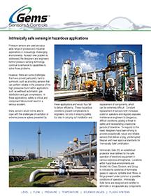 Intrinsically Safe Sensing in Hazardous Applications