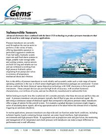 Submersible Sensors