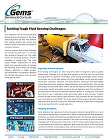 Tackling Tough Fluid Sensing Challenges